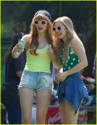 Caroline Sunshine - at Griffith Park in LA 3/17/13