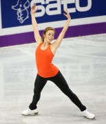 ASHLEY WAGNER World Figure Skating Championships 2013 Practice (2 MQ)