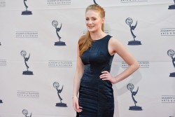 Sophie Turner - Academy of TV Arts &amp;amp; Sciences' presents 'An Evening with Game of Thrones' in Hollywood 3/19/13