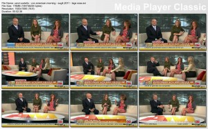 CAROL COSTELLO legs - cnn american morning - august 4, 2011 - LEGS - WOW