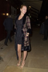 Uma Thurman - leaving LouLou's members club in London 3/20/13