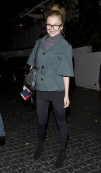 Izabella Miko - at the Chateau Marmont in West Hollywood 3/21/13
