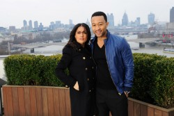 Salma Hayek - 'The Sound of Change Live' photocall in London 3/26/13