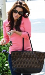 Eva Longoria - at a hair salon in Beverly Hills 3/26/13