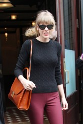 Taylor Swift - Out and about in NYC 3/27/13