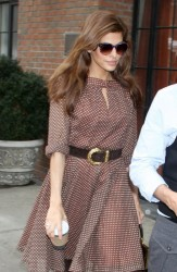 Eva Mendes - Out and about in NYC 3/28/13