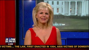 GRETCHEN CARLSON cleavage - FNF - march 8, 2013