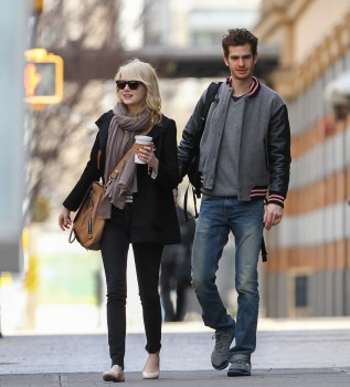 Emma Stone out walking in NY April 2