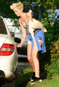 Miley Cyrus out and about in Beverly Hills 4/13/13