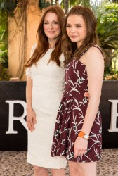 Chloe Grace Moretz & Julianne Moore - Promoting 'Carrie' in Cancun 4/18/13