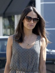 Jordana Brewster - out in Hollywood 4/18/13