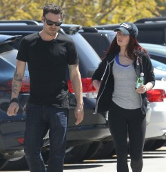 Megan Fox - Out and about in LA 4/21/13