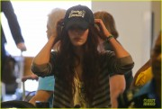 Megan Fox at LAX Airport 4/22/13