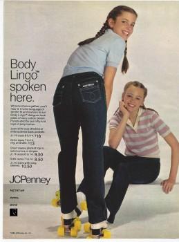 Cynthia Gibb: Jeans Ad 1980 - HQ x 1
