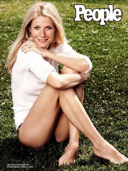 GWYNETH PALTROW in People Magazine, May 2013 Issue