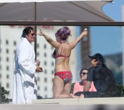 Kelly Osbourne Wearing a Bikini in Sydney, Australia - April 27, 2013