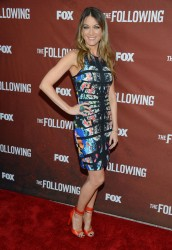 Natalie Zea - FOX's 'The Following' screening in Hollywood 4/29/13