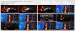 DARYA FOLSOM lowcut - kron4 newsbabe - january 18, 2011 - *lowcut cleavage*