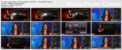DARYA FOLSOM lowcut - kron4 newsbabe - january 18, 2011 - *lowcut cleavage*