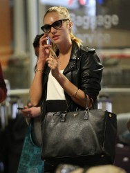 Candice Swanepoel - at LAX Airport 5/2/13