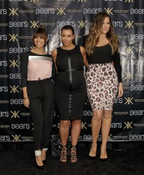 Kim, Khloe & Kourtney Kardashian - Kardashian Kollection appearance in Houston 5/4/13