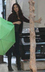 Megan Fox - on the set of 'Teenage Mutant Ninja Turtles' in NY 5/5/13