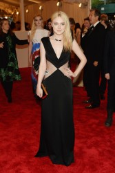 Dakota Fanning - 2013 Met Gala in NYC 5/6/13