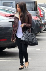 Brenda Song - out in Studio City 5/7/13