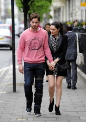 Kelly Brook - out in London 5/10/13