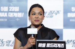 Michelle Rodriguez - 'Fast &amp;amp; Furious 6' press conference in Seoul 5/13/13