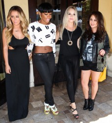 Danity Kane -  At a meeting in LA 5/13/13