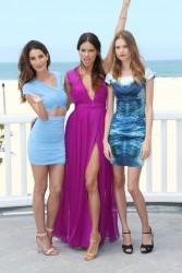 Adriana Lima, Lily Aldridge & Behati Prinsloo - Victorias Secret Eight Annual What Is Sexy? 2013 Pink Carpet Party in Santa Monica 5/14/13