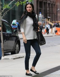 Courteney Cox - out in NY 5/14/13