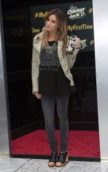 Ashley Tisdale - First Time with Cracker Jack'D event in NYC 5/15/13