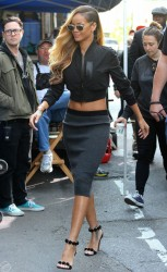 Rihanna - Filming a commercial in NYC 5/15/13