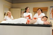SNL 5/11 skits; host Kristen Wiig, Cecily Strong, Nasim Pedrad, Kate McKinnon, Vanessa Bayer