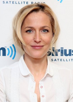 Gillian Anderson, SiriusXM may 2013