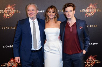 Jennifer Lawrence The Hunger Games Catching Fire Party 19