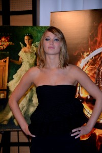 Jennifer Lawrence The Hunger Games Catching Fire Photocall 7