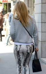 Bar Refaeli - out in Milan 5/19/13