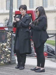 Kim Kardashian - Out and about in Paris 5/21/13