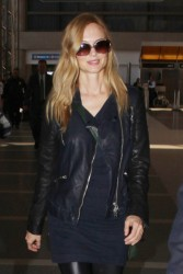 Heather Graham - at LAX Airport 5/21/13