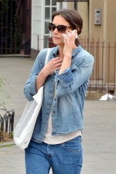 Katie Holmes - out in NYC 5/22/13