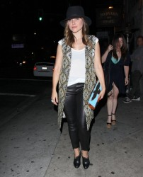 Sophia Bush - at Harvard & Stone in Hollywood 5/22/13