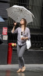Keri Russell - out in NYC 5/23/13