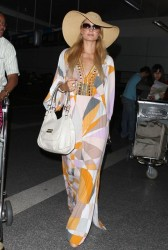 Paris Hilton - Arriving to LAX Airport 5/26/13