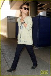 Natalie Portman - At LAX Airport 5/30/13