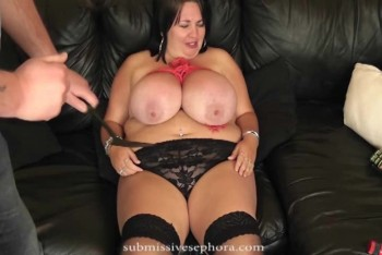 Bbw big boobs lezdom