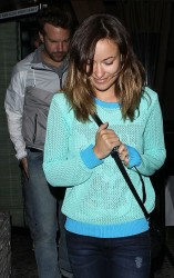 Olivia Wilde - leaving Red O restaurant in West Hollywood 6/5/13