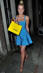 Helen Flanagan - at Brooke Vincent's birthday party in Manchester 6/8/13